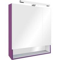 Зеркало-шкаф Roca Gap 80x85 ZRU9302753 с подсветкой