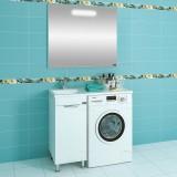 Мебель для ванной СаНта Лидер 100 напольная левая