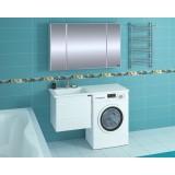 Мебель для ванной СаНта Марс 120 подвесная левая