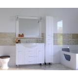 Мебель для ванной СаНта Монарх 120 напольная белая