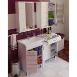 Мебель для ванной СаНта Омега 60 напольная белая левая