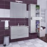 Мебель для ванной СаНта Омега 90 подвесная Elen с подсветкой
