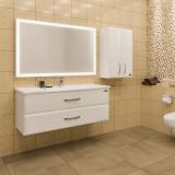Мебель для ванной СаНта Виктория 120 подвесная с зеркалом-шкафом Марс