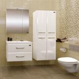 Мебель для ванной СаНта Виктория 70 подвесная с зеркалом-шкафом Стандарт