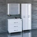 Мебель для ванной СаНта Виктория 80 напольная с зеркалом Виктория