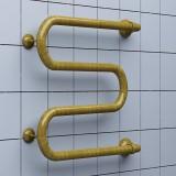 Полотенцесушитель водяной Ника Simple М 60/60 бронза