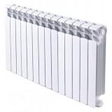 Радиатор биметаллический Rifar Base Ventil 350 14 секций правое подключение