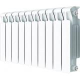 Радиатор биметаллический Rifar Monolit Ventil 350 10 секций правое подключение