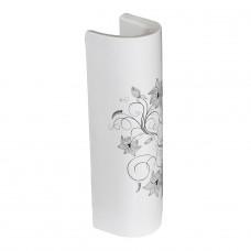 Пьедестал для раковины SANITA LUXE Art lux flora 48х48 см.