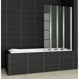 Шторка на ванну Cezares Pratico V4 100/140 P Cr R