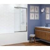 Шторка на ванну Wasserkraft Main 41S02 100х140 R Matt glass