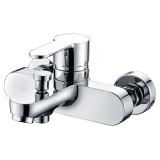 Смеситель BelBagno Tanaro TAN VASM CRM для ванны с душем
