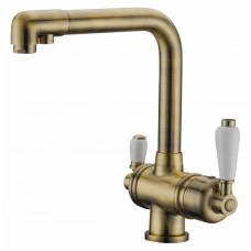 Смеситель для кухонной мойки Elghansa Kitchen Pure Water 56A5740-Bronze