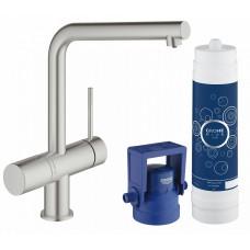 Комплект Grohe Blue Minta New Pure 31345DC2 со смесителем для кухни