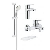 Комплект для ванной Grohe BauCurve 118389 4 в 1