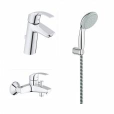 Комплект для ванной Grohe Eurosmart 124470 3 в 1