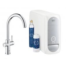Смеситель Grohe Blue Home 31455000 с функцией фильтрации и газирования воды