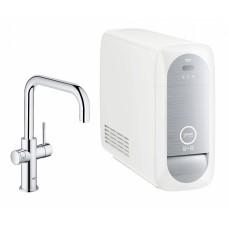 Смеситель Grohe Blue Home 31456000 с функцией фильтрации и газирования воды