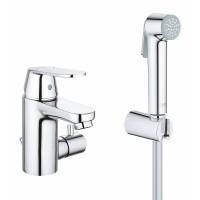 Смеситель Grohe Eurosmart Cosmopolitan 23433000 для раковины, с цепочкой и гигиеническим душем