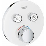 Термостат Grohe Grohtherm SmartControl 29151LS0 для ванны с душем, moon white