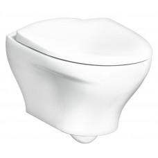 Унитаз Gustavsberg Estetic Hygienic Flush GB1183300R1030 подвесной безободковый с микролифтом