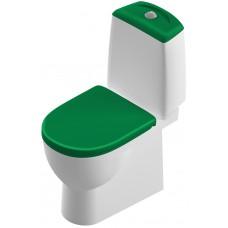 Унитаз-компакт Sanita Luxe Best Color Green BSTSLCC09130522 напольный с микролифтом