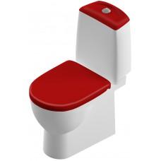 Унитаз-компакт Sanita Luxe Best Color Red BSTSLCC07110522 напольный с микролифтом